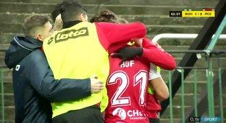 VIDEO: Bohemians - Pardubice 1:1. První gól Necida, hosté srovnali