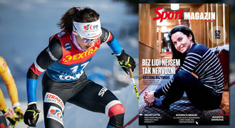 Razýmová ve Sport Magazínu: Vždycky si doma stěžuju, že budu poslední