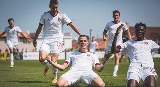 Béčko Sparty začalo ve druhé lize výhrou v Chrudimi, uspělo i Ústí