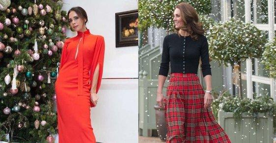 Victoria Beckham a vévodkyně Kate sázejí na klasiku.