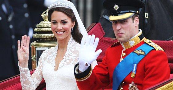 Kate & William (800 milionů korun)