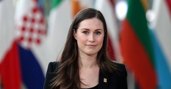 Finská premiérka Sanna Marin