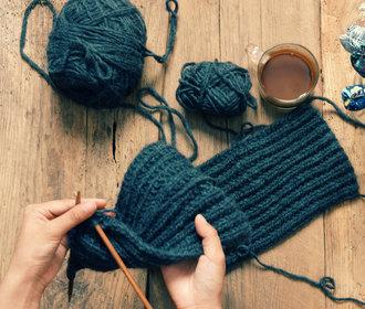 Blog Báry Šťastné: Díky pletení můžete být šťastnější, i když nepletete