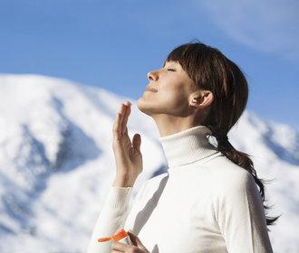 Dobrá clona: Jak ochránit kůži před zimními paprsky?