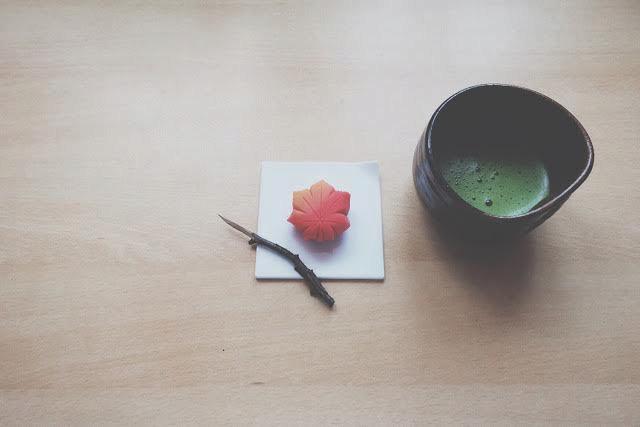 Nerikiri javorový list momiji