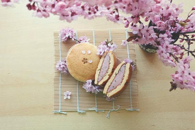 Sakura Dorajaky, lívance se sladkou fazolovou náplní