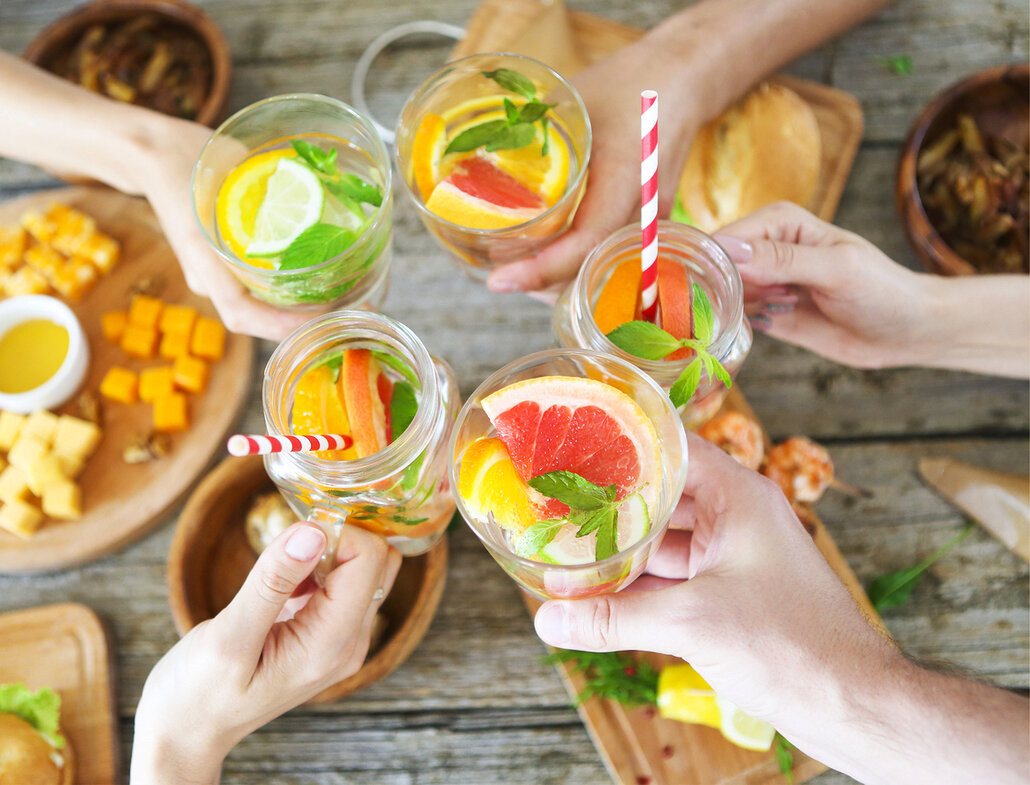 Alkohol vyměňte za domácí limonádu!