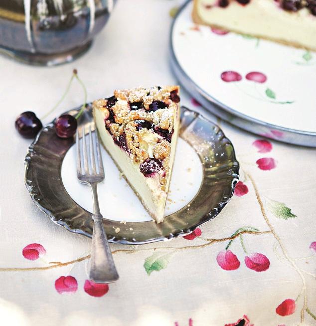 Cheesecake třešňový
