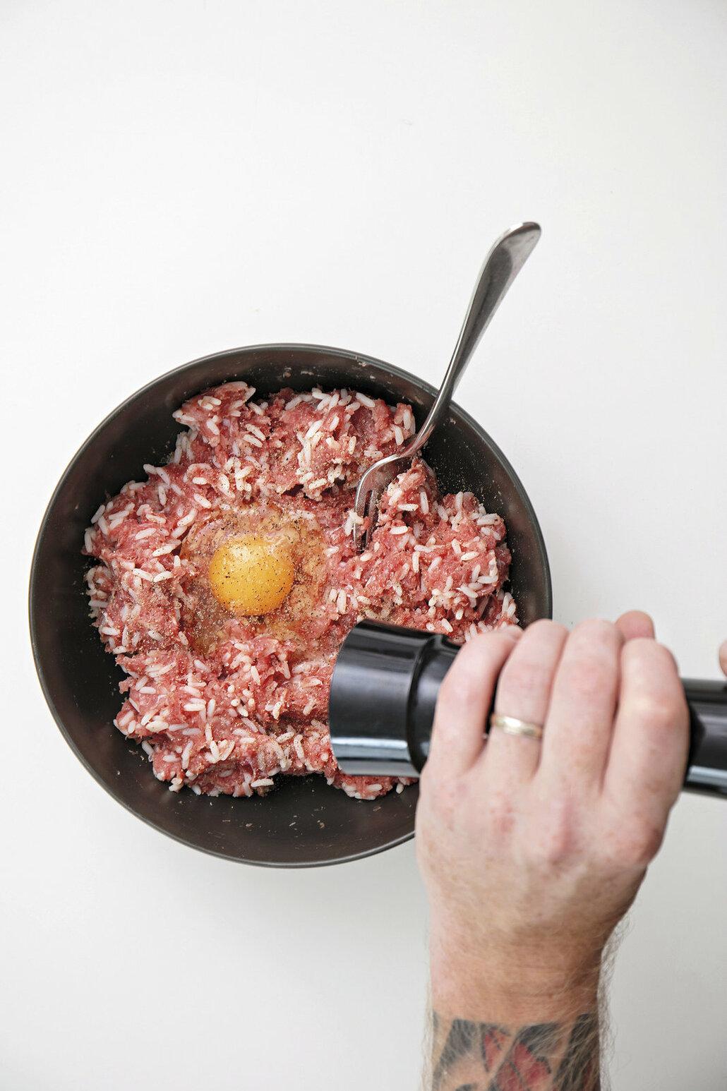 plněné papriky mleté maso