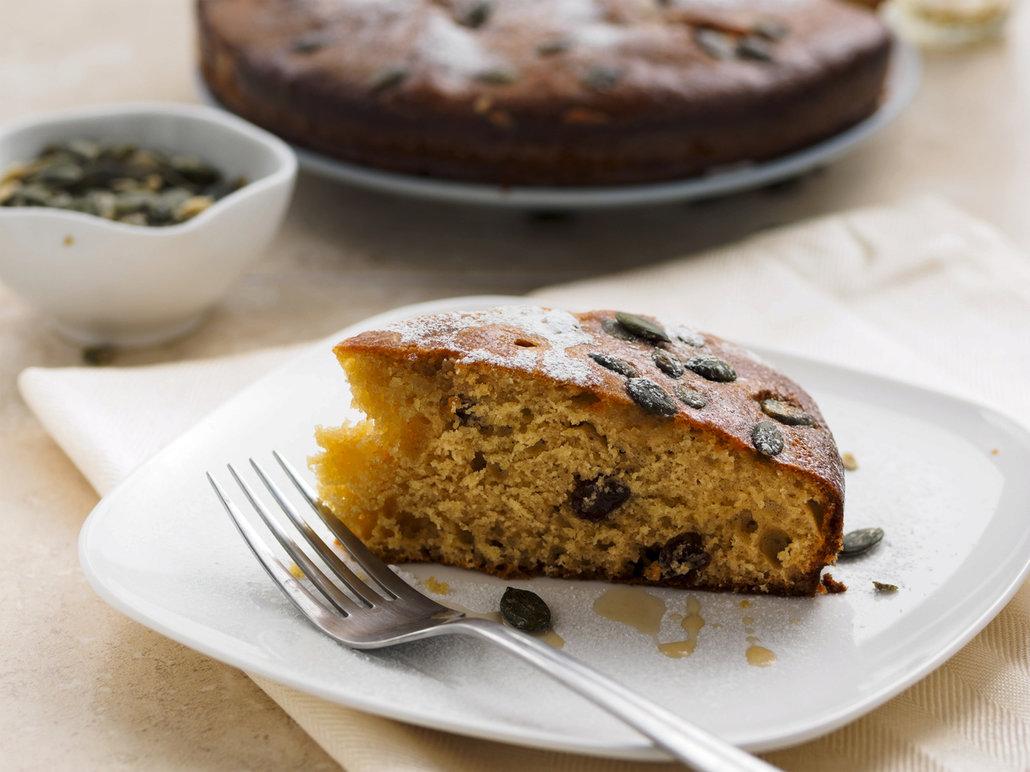 Dýňové řezy upečte na plechu nebo v dortové formě