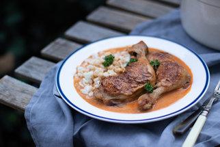 Pravé kuře na paprice podle maďarského receptu