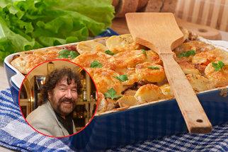 Zapečené řízky podle režiséra Zdeňka Trošky: Skvělý oběd z jednoho pekáče