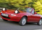 Mazda nabídne nové náhradní díly na první MX-5. Už i v Evropě