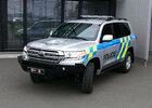 Policie převzala Toyoty Land Cruiser 200. Nové teréňáky vybavila i pancéřováním