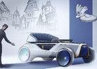 Škoda ukáže moderní interpretace svých zásadních vozů. Z prvního auta značky je autonomní kočár