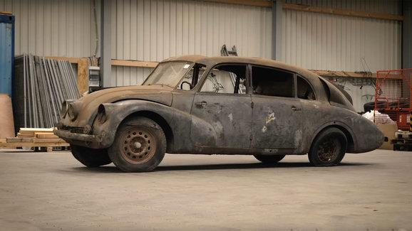 Němci tvrdí, že v USA našli Tatru 87, kterou jezdil Reichsführer-SS Heinrich Himmler