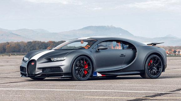 Bugatti Chiron Sport Les Légendes du Ciel je specialitka pro 20 vyvolených. Za 75 milionů