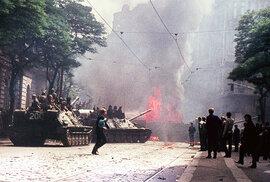 Vzpomínky Jiřího Chrastila na 21. srpen 1968 a jeho tehdejší barevné fotografie