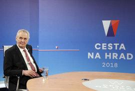 Slavnostní monolog kandidáta Zemana