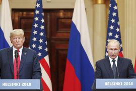 Putin přiznal, že v amerických volbách držel palce Trumpovi