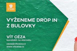 Volební kampaň ČSSD: Klauni v oranžovém vyhánějí nemocné z nemocnice. Omylem