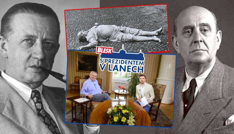 Lid se ptá Miloše Zemana: Lhal jste o Peroutkovi? A zabil se Masaryk sám?