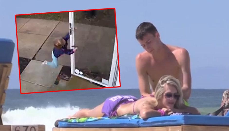 To je trapas: Fešáky z pláže balila holka s erekcí!? A navíc: Létající dítě!