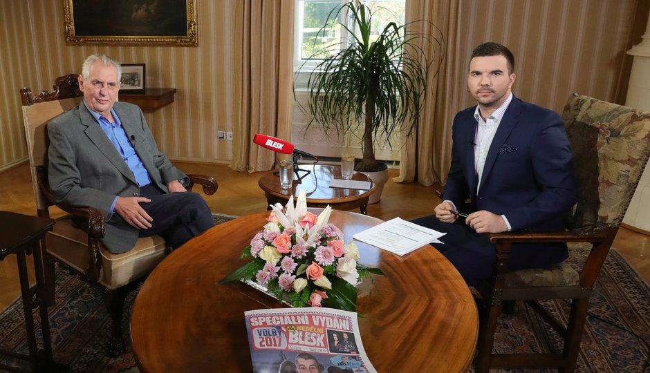 Zeman exkluzivně o volbách: Celý záznam pořadu S prezidentem v Lánech