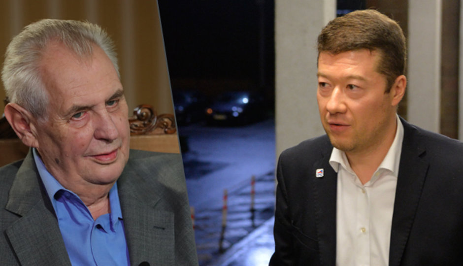 Zeman vyhlásil kvůli poslanci ANO nové volby. A Okamura má problémy v účetnictví
