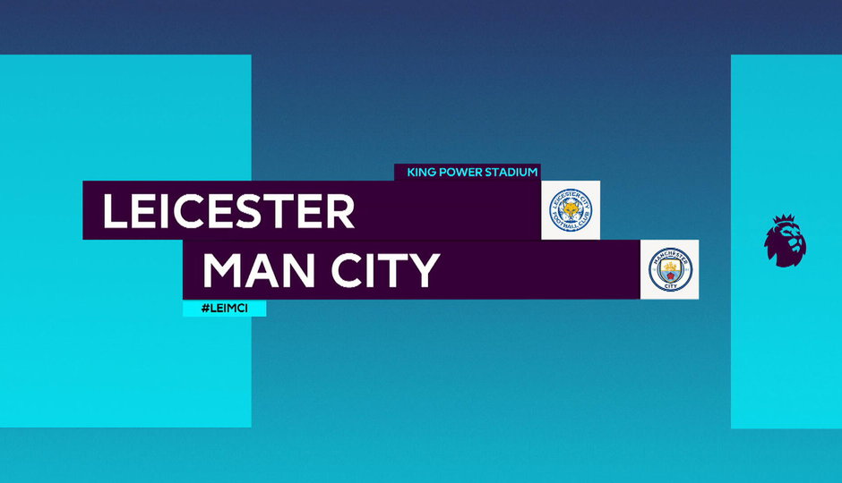 SESTŘIH Premier League: Leicester - Manchester City 0:2