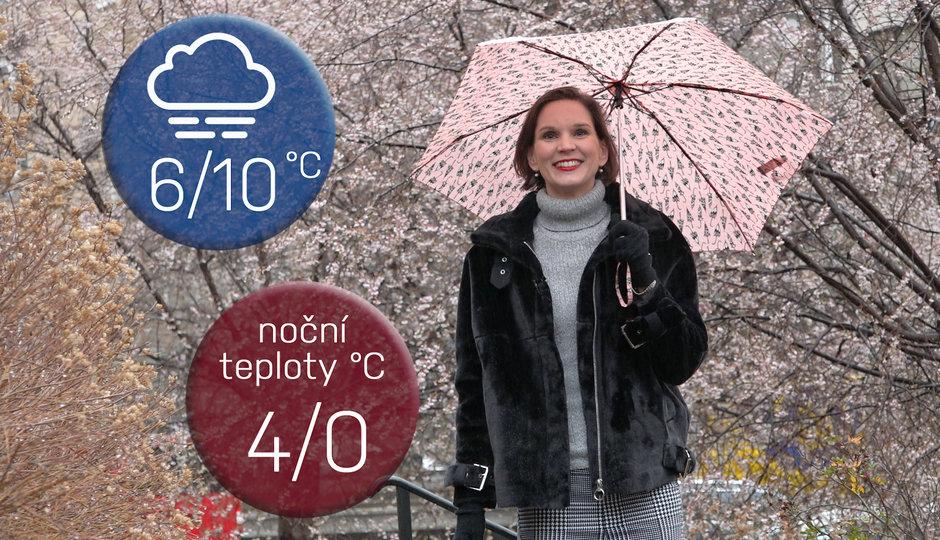 Předpověď na víkend: Leden začne jarním počasím a mokrým sněhem na horách