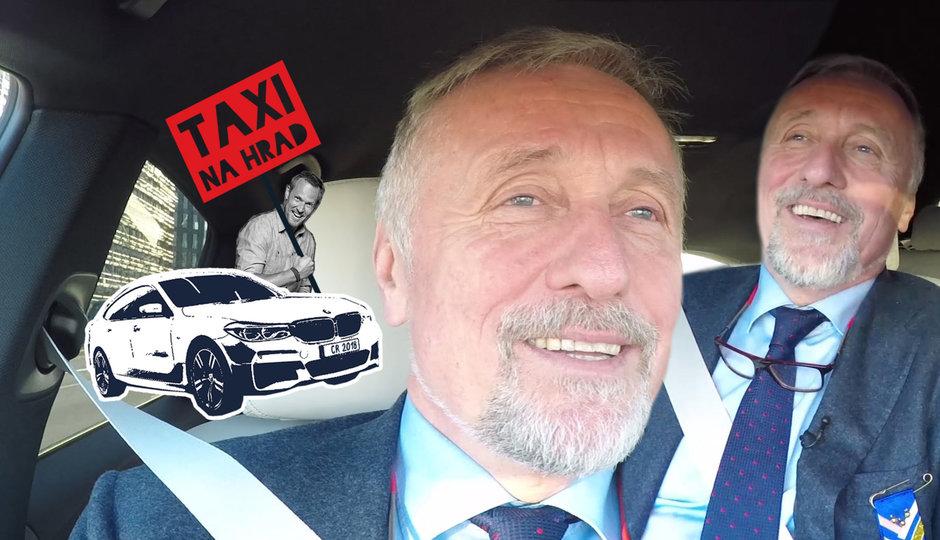 Topolánek v taxíku na Hrad: Plakal u Pretty Woman, ukázal medaili, zpíval Olympic