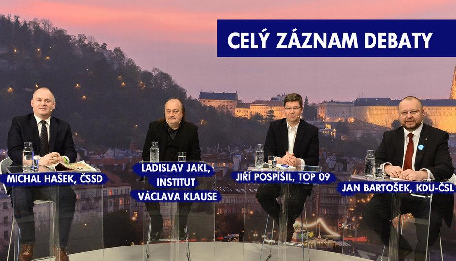Křik ve studiu Blesku: Jakl a Pospíšil se pohádali o Drahoše a Zemana