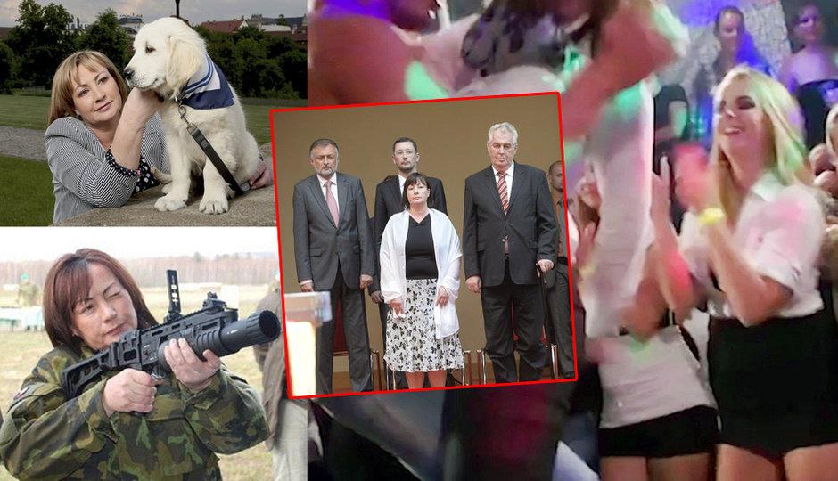 Porno mejdan, granátomet, přemety ve vizáži a nový pes: 5 let první dámy a Kateřiny Zemanové