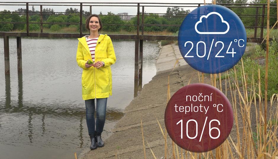 Předpověď na víkend: Bouřky ochladí Česko, teplota spadne až na 4 stupně