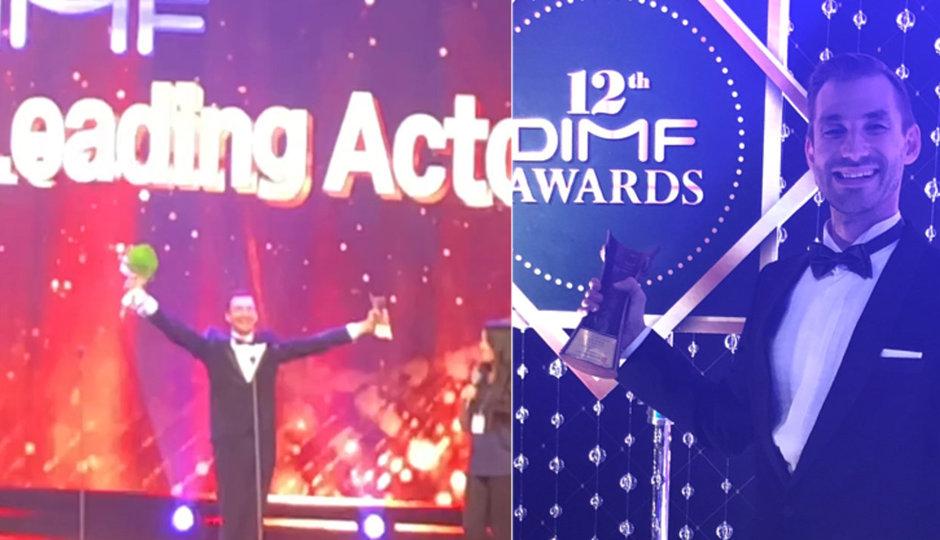 Daniel Barták byl vyhlášen nejlepším hercem na festivalu v Koreji