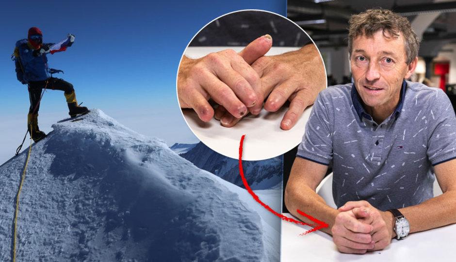 """""""Mrtví sedí, nebo leží."""" Horolezec Ivo popsal smrt na Mount Everestu, sám přišel o prsty"""
