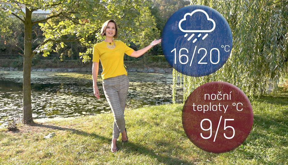 Předpověď počasí: Léto odchází, o víkendu se ochladí až o 15 stupňů