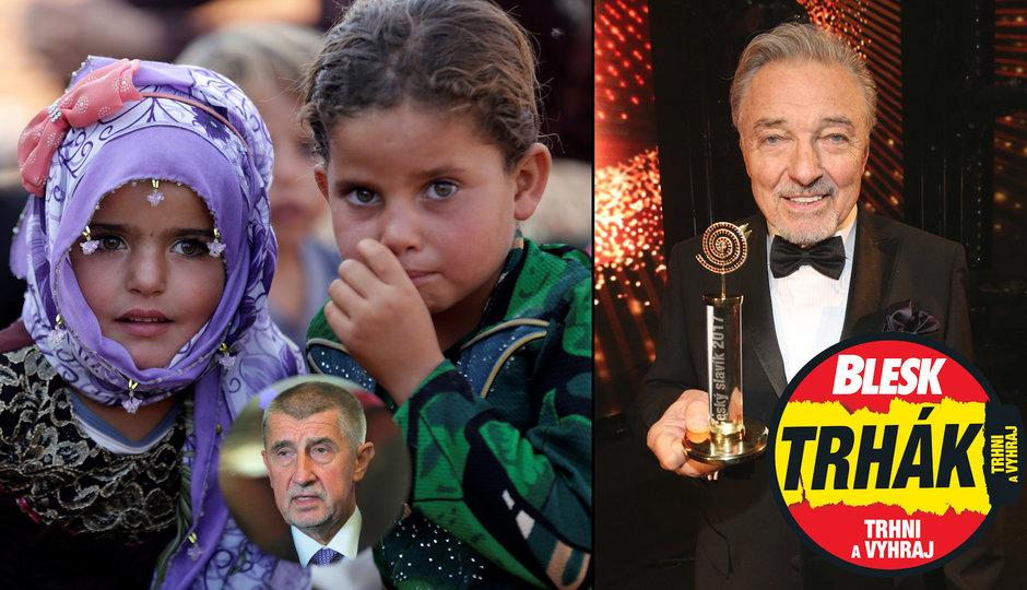 Senátoři vyzvali Babiše přijmout syrské děti. A Český slavík nebude