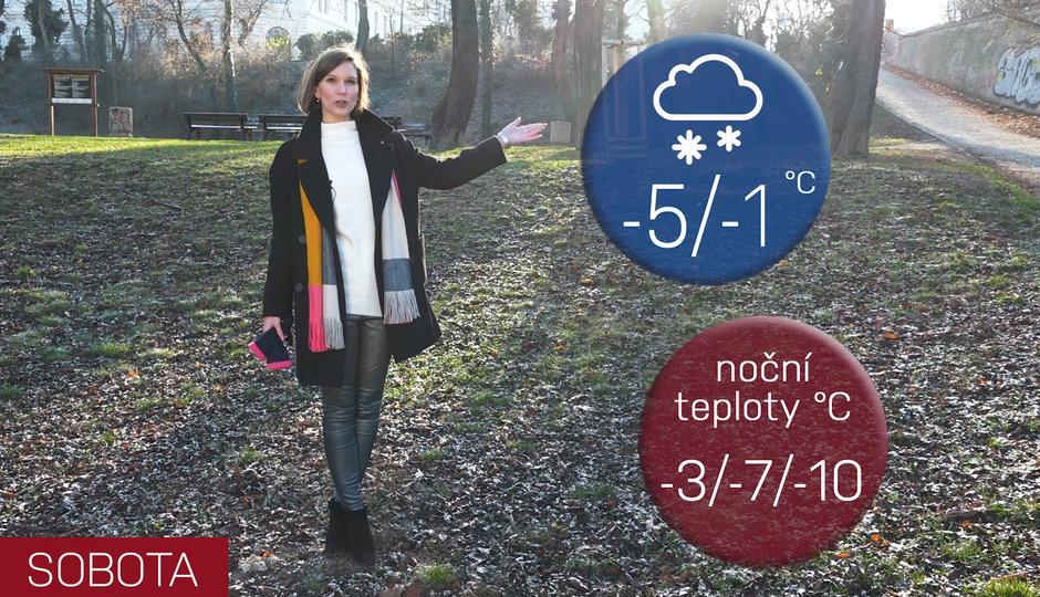 Počasí na víkend: Pozor na ledovku, v mrazových kotlinách bude i pod minus 15 stupňů