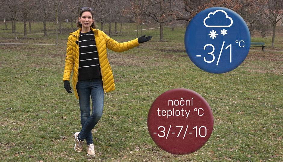 Počasí na víkend: Na horách bude až -15 °C