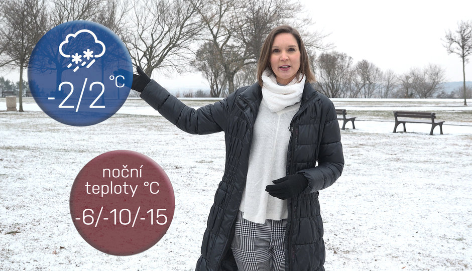 Počasí na víkend: Bude pršet, na horách sněžit. Pozor na ledovku!
