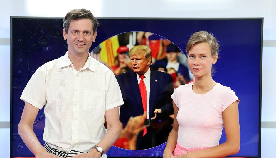 """""""Trump je jednoduchý člověk, v tom je jeho síla. Ve světě si z něj utahují a zároveň se ho bojí,"""" říká amerikanista Kozák"""