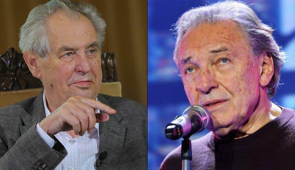 Odpovědi Zemana pro čtenáře Blesku: O Gottovi či bombardování Srbska