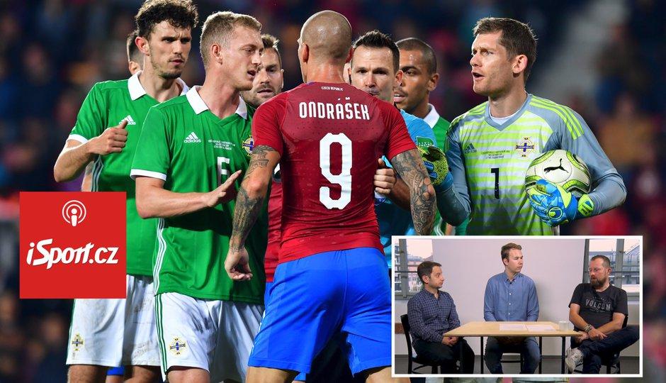 iSport podcast: Proti Severním Irům bylo změn příliš. Před Kosovem neměl kouč experimentovat