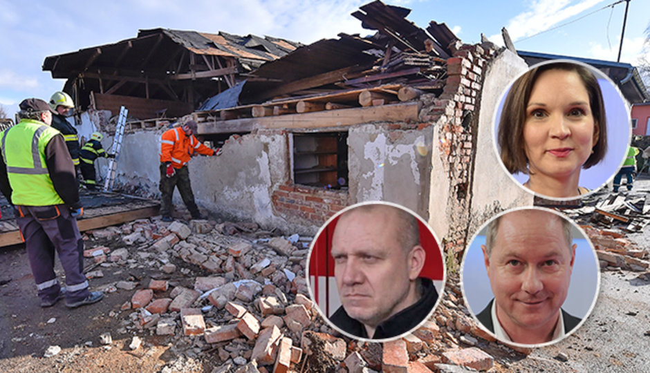 I sto zásahů za hodinu: Hasič Kavka, meteoroložka Honsová a politik Gazdík o řádění Sabine