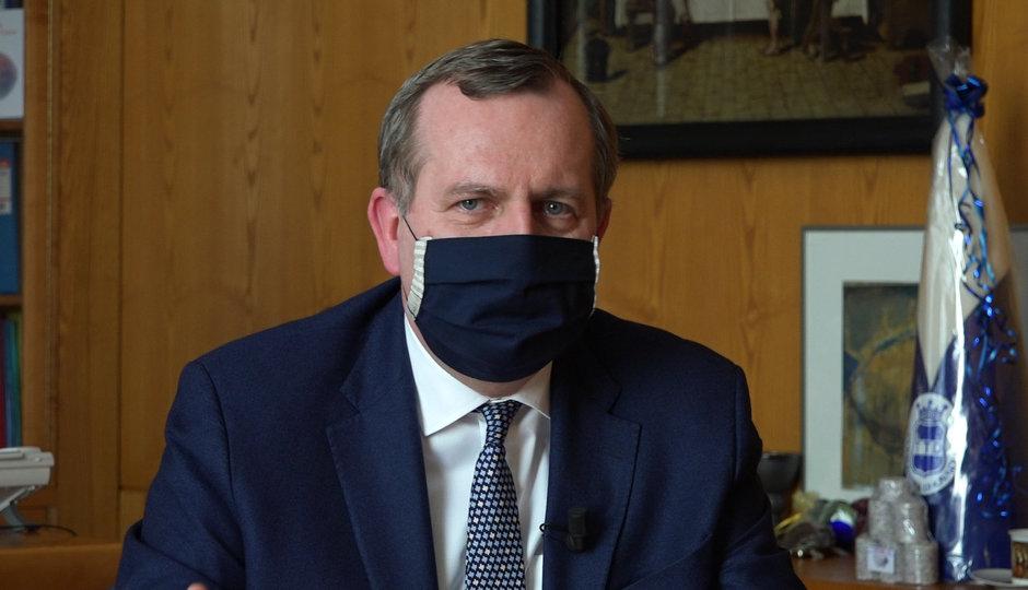 Rektor Univerity Karlovy Zima: Jsme v nejistotě, kdy a jak se opatření proti koronaviru rozvolní