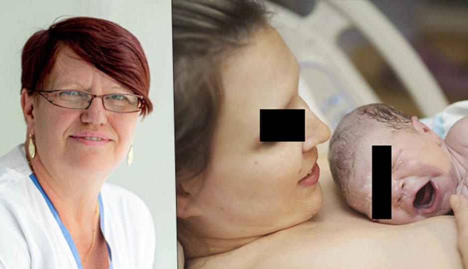 Porodní asistentka Alena Wernerová přivedla za 30 let na svět přes tisíc dětí