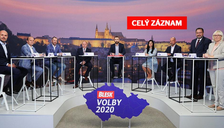 Roušky, peníze důchodcům a chudoba v Česku. Co zaznělo v debatě Blesku?