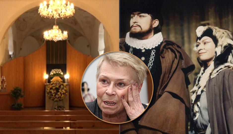 CELÝ ZÁZNAM: Pohřeb Andresíkové (†79): Stížnosti a výčitky nad rakví! Do koho se opřel její přítel?